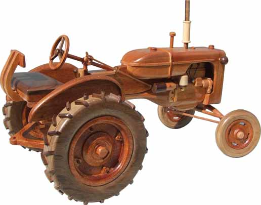 Right side view of Allis Chalmers 1938 Model B