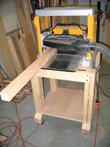 Planing TV Stand legs