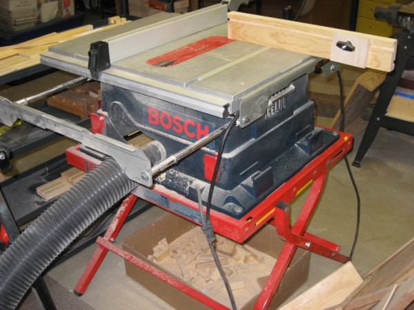 10 Inch Bosch contractor's portable table saw.