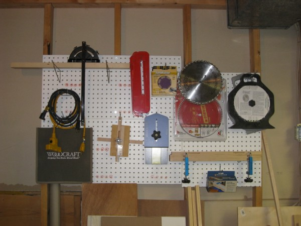 Table saw attachments and accessories.