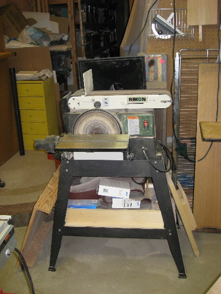 10 Inch Rikon Disc and belt sander.