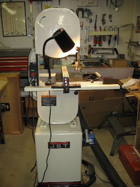 Jet 14 inch band saw.