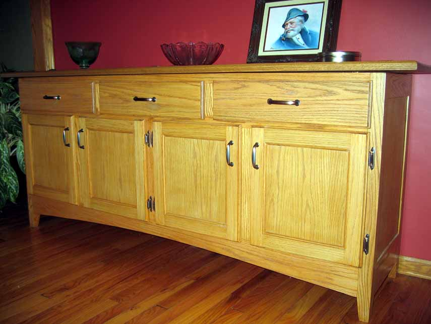 Modified shaker sideboard